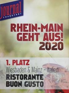 1. Platz Rhein-Main Geht Aus!